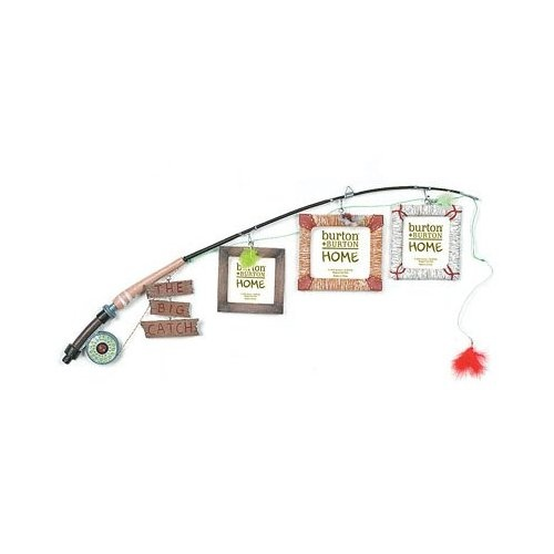 Amazon.com: The BIG Catch FLY Fishing Pole Photo Picture Holder Frame Themed Decor: Home & Kitchen