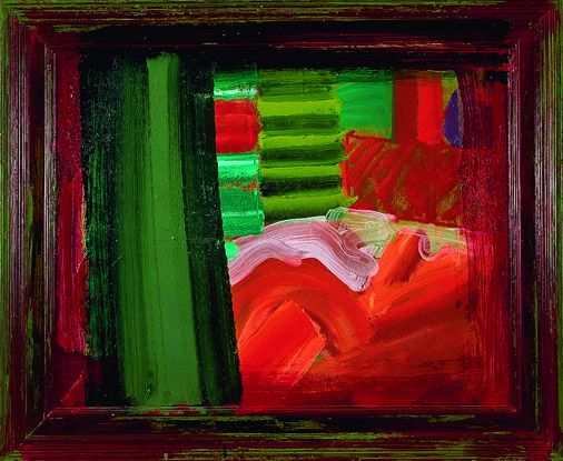 Howard Hodgkins - i like the dream-like and ambiguous feel
