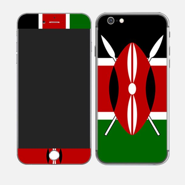 #iPhone6plus Republic of Kenya http://skin4gadgets.com
