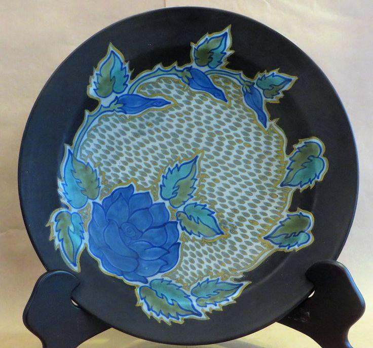 Bord Blauwe Rozen - Plateel borden - Plateel - Antieke voorwerpen - Collectie