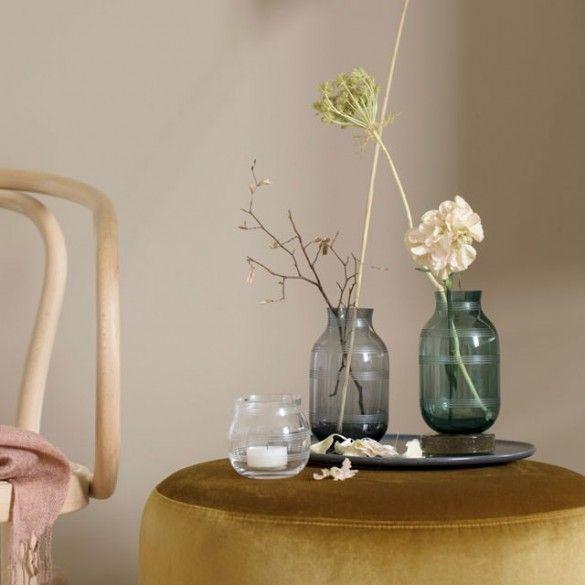 Omaggio Glass Vase Green Mini / Omaggio / New