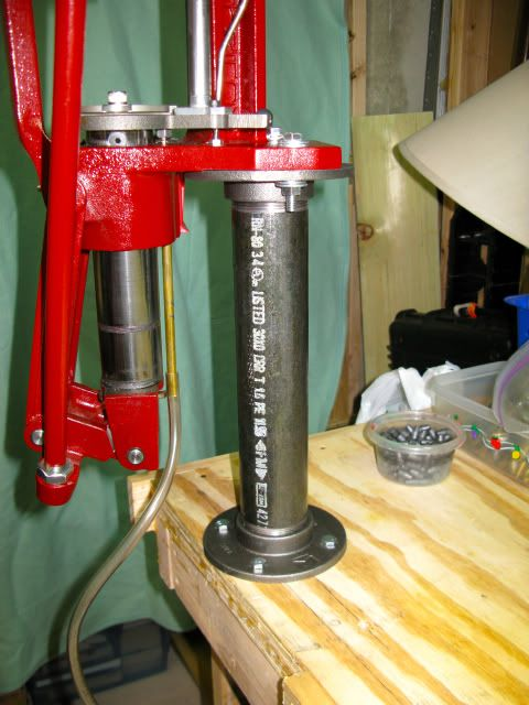 Homemade Elevated Press Stand Reloading Ideas