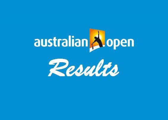 Australian Open 2017 Results