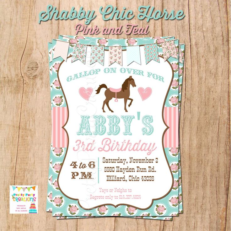 22 best pony party images on Pinterest | Birthdays, Cowgirl ...