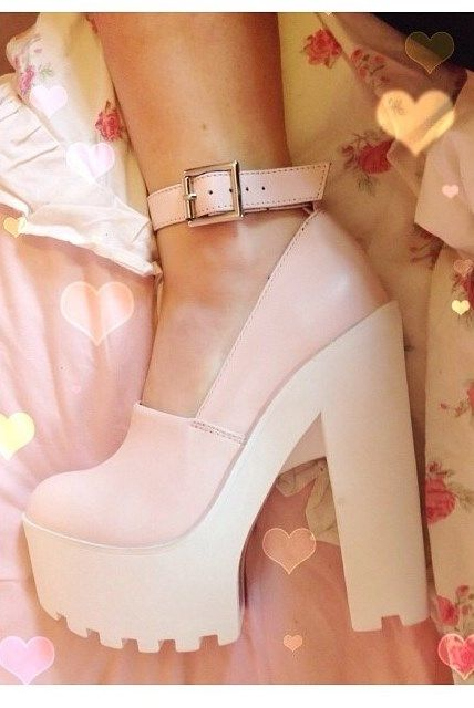 dream shoes// birthday present// Campbell copies// pastel //white