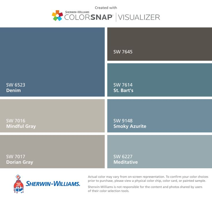 14 best color palettes images on pinterest color for Blue jean paint color