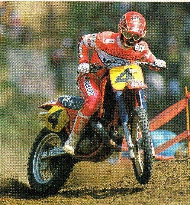 Georges Jobé # 4 # motocross