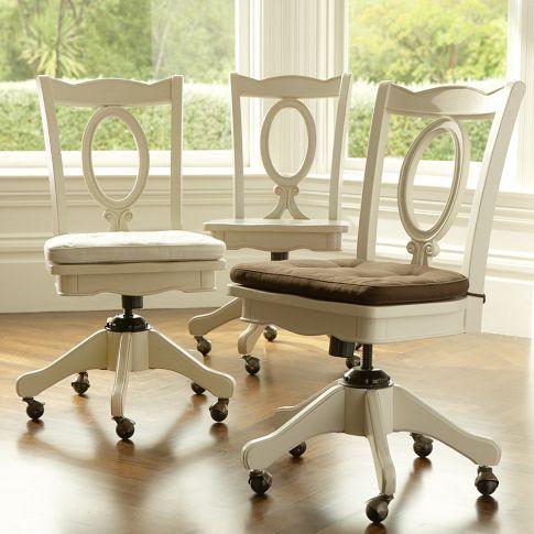 Chelsea Sweet Vanity Pbteen Swivel Chair Desk Swivel
