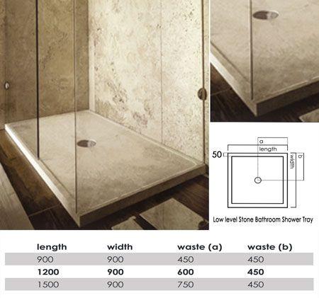 Cute Luxury Stone Shower Tray V Poliertem BetonNassr umeBadezimmer Ideen TravertinMa geschneiderteConcrete