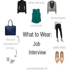 Repinned: Job Interview Style