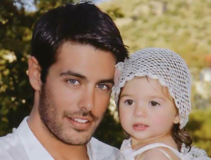 Kostas Martakis (with baby Celia) - Greek Singer   Kostas ...