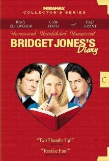 Favorite Chick Flick- Bridget Jone's Diary... So hilarious and relatable... and I wouldnt mind ending up in Colin Firth's jacket at the end ;)