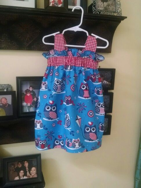 4th of july dress 0-3 months