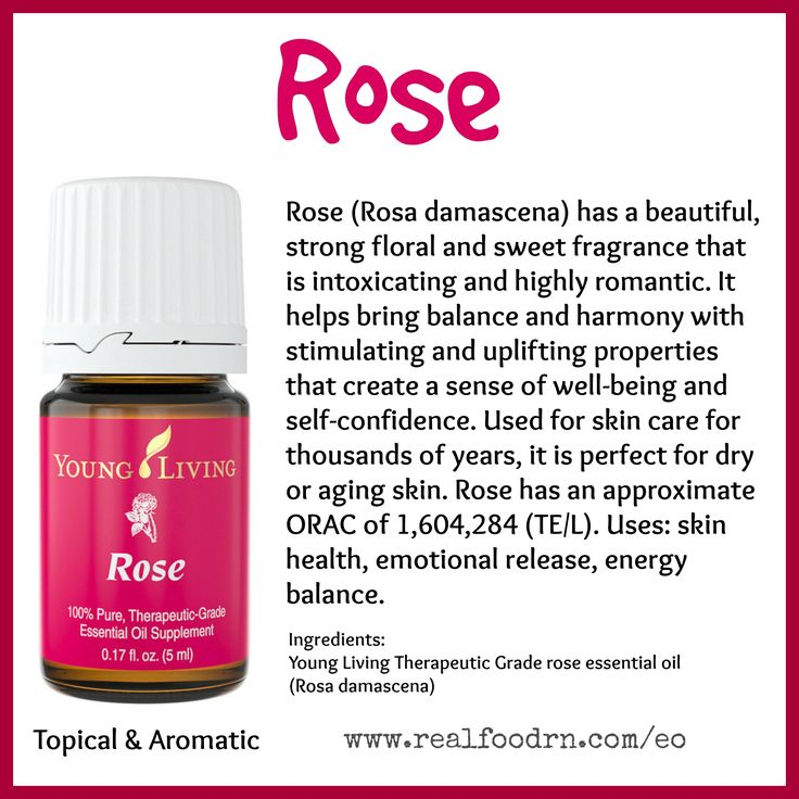 Rose Essential Oil. Promote skin health, release emotions, energize and balance. #rose #essentialoils