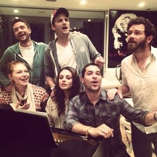 """And now there�s this. The gang, back together. 