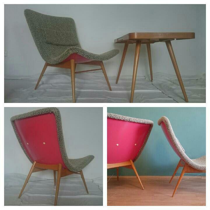 Rare Miroslav Navratil TV chairs, check it on my FB page, good price;)