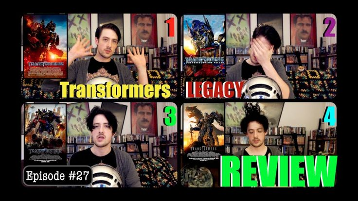 TRANSFORMERS  Vodka = Misery (Films 1-4 Reviewed and self respect compromised)