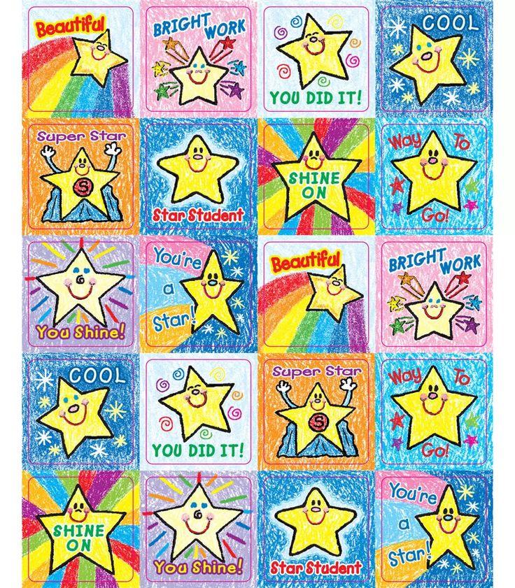 Stars Motivational Stickers