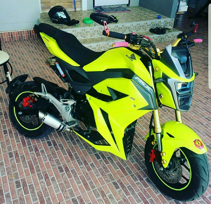Honda Grom Build >> New Modified 2017 Grom / 2016 MSX125SF Photos | Build Ideas with Aftermarket Performance ...