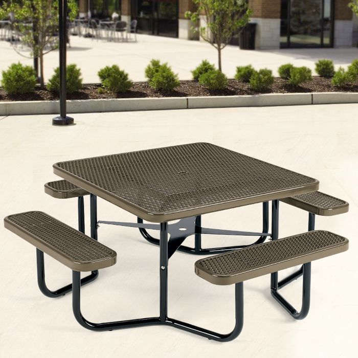 42 best plastisol coated metal picnic tables images on pinterest for years of like new performance select picnic tables with this superior all weather finish watchthetrailerfo