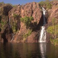 Not a bad spot for a swim. Wangi Falls, Litchfield National Park, Northern Territory, Australia