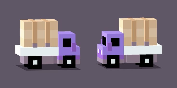 Gotta move these boxes... #CrossyRoad