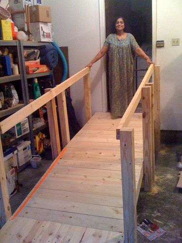 441 best images about home modifications on pinterest for Handicap stairs plans