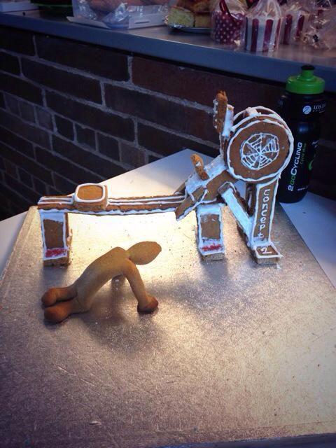 How the gingerbread man got caught!