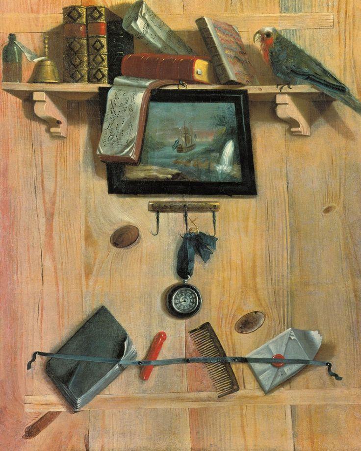 Натюрморт с нотами и попугаем.1737 год.  Теплов Григорий Николаевич  (1717-1779) Усадьба Кусково