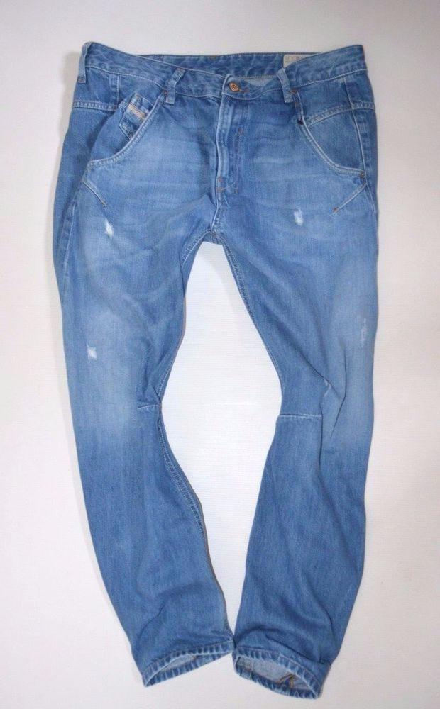 "NEW Ladies DIESEL FAYZA 0823U BOYFRIEND JEANS womans size W31 L32 uk 14 32""leg"