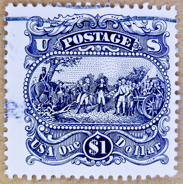us 5 cent christmas stamp value
