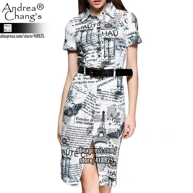 2015-musim-semi-musim-panas-desainer-gaun-womens-Panjang-lutut-putih-Surat-sabuk-pola-koran-cetak.jpg_640x640.jpg (640×640)