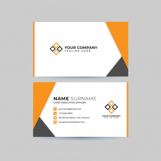 Professional Business Card Template Set Professional Business Cards Business Cards Creative Professional Business Cards Templates