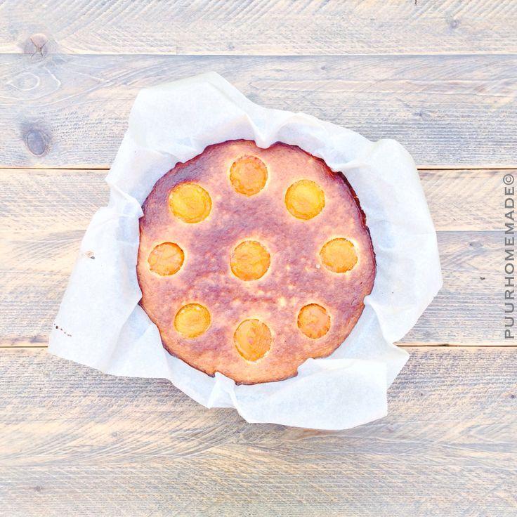 Mmm...Oranjeclafoutis. Puur Homemade by Cilla Tibbe- www.puurhomemade.nl