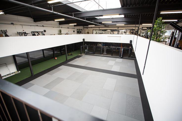 Sprinttrack @Gym Hoofddorp Melvin Manhoef. #crossfit #equipment #manhoef #turf #floor