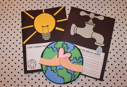 Such a fun Earth Day unit! It has easy art, differentiated fluency passages, activities, a family project, and social studies test! Yes please!