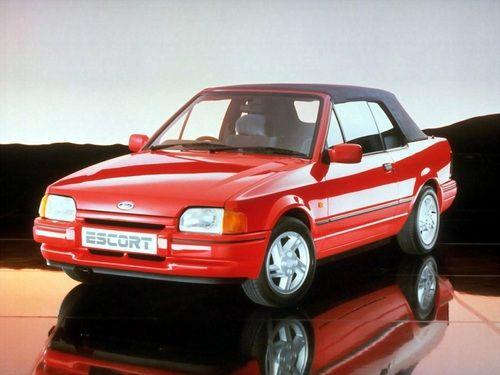 Ford Escort XR3i Cabriolet (1986 - 1990). - youngtimercars - Fotolog