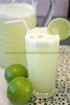 Limonada Suiça | Receitas e Temperos                                                                                                                                                                                 Mais