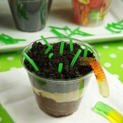 Soil Property Pudding Cups..TOO cute to end the soil lesson next week!!!