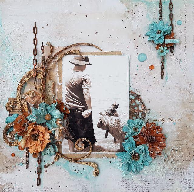 The Dusty Attic Blog: His Happy Place - Tina Ollett - Mood Board Inspiration