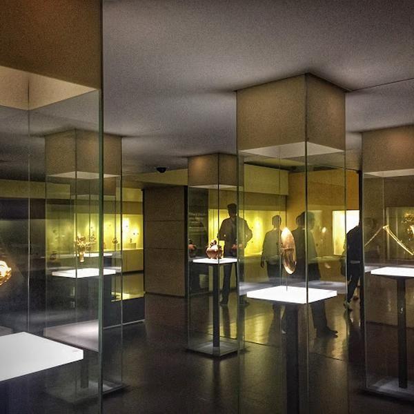 Carlota's tip at Museo del Oro del Banco de la República