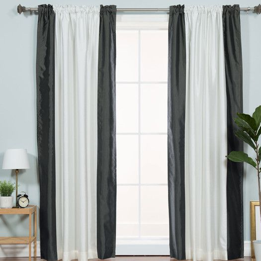 1000 Ideas About Color Block Curtains On Pinterest Green Granite Countertops Curtains And