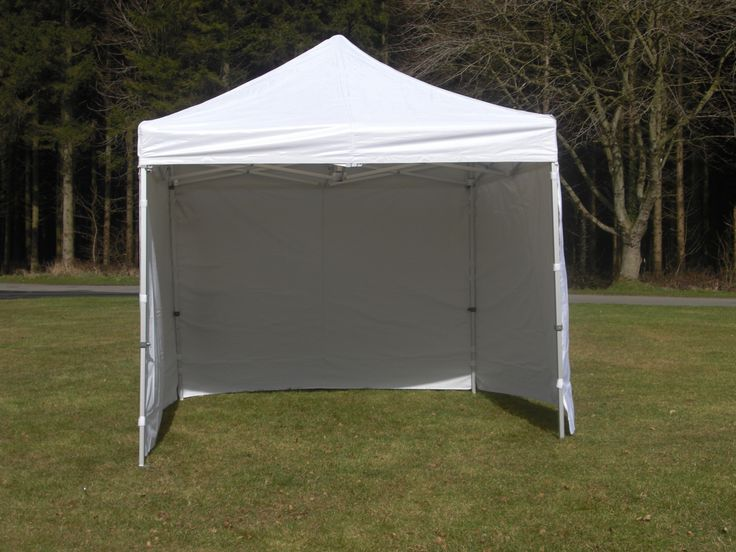 Remarkable Heavy Duty 3m X 10ft Industrial Pop Up White