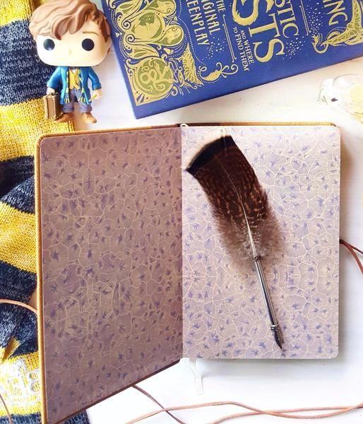 Newt Scamander journal #fantasticbeastsandwheretofindthem #niffler #newtscamander #macusa #journal #harrypotter #hogwarts