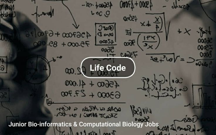 Junior #Bioinformatics & Computational Biology 🔬 Jobs https://tapwage.com/channel/life-code