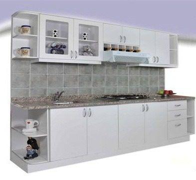 Mueble de cocina practico y moderno 2 40mts amoblamientos for Muebles modernos para cocina comedor