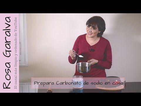 Cómo hacer carbonato de sodio en casa - YouTube