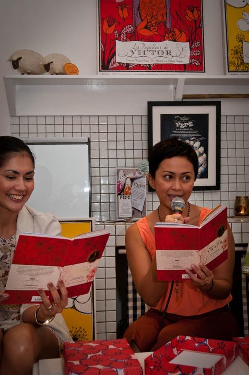 Storytelling by Sarah Sechan and Izabel Jahja. Cheers!