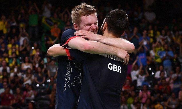 Team GB's Chris Langridge andMarcus Ellis claim badminton bronze