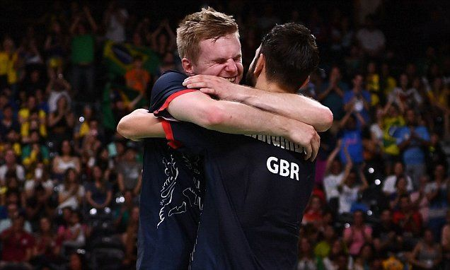 Team GB's Chris Langridge and Marcus Ellis claim badminton bronze